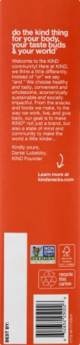 KIND Healthy Grain Peanut Butter with Dark Chocolate Bars Perspective: left