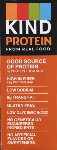 KIND Protein Crunchy Peanut Butter Bars 5 Count Perspective: left