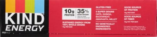 KIND Energy Dark Chocolate Peanut Butter Bars Perspective: left