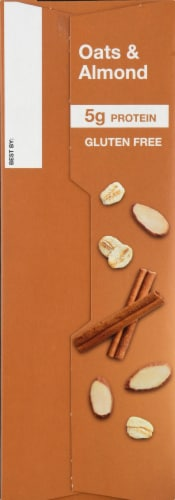 KIND Oatmeal Oats & Almond Perspective: left