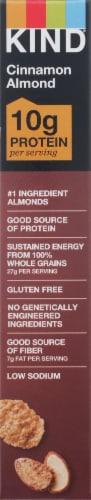 KIND® Gluten Free Cinnamon Almond Protein Cereal Perspective: left