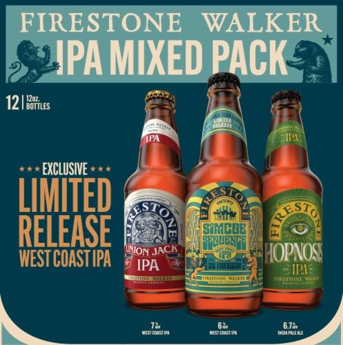 Firestone Walker IPA Mix Pack Perspective: left