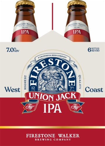 Firestone Walker Union Jack IPA Beer Perspective: left