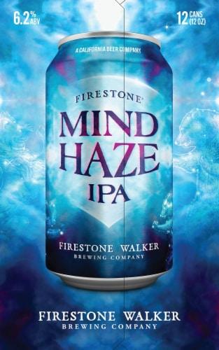 Firestone Walker Mind Haze IPA Beer Perspective: left