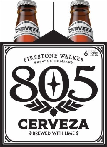 Firestone Walker 805 Cerveza Beer Perspective: left