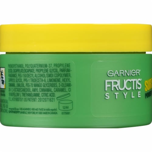Garnier Fructis Style Surfer Hair Power Putty Perspective: left
