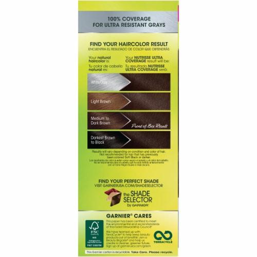 Garnier Nutrisse Ultra Coverage 400 Sweet Pecan Hair Color Perspective: left