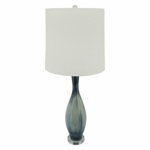 Ceramic 38  Bottle Table Lamp, Multi Perspective: left