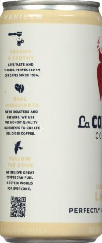 La Colombe Vanilla Draft Latte Perspective: left