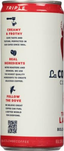 La Colombe Triple Draft Latte Perspective: left