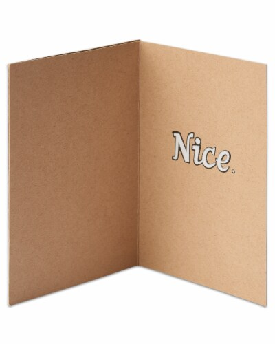 American Greetings Congratulations Card (Thumbs-Up) Perspective: left