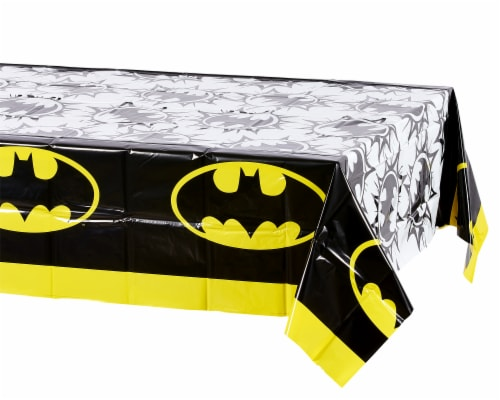 American Greetings Batman Plastic Table Covers Perspective: left
