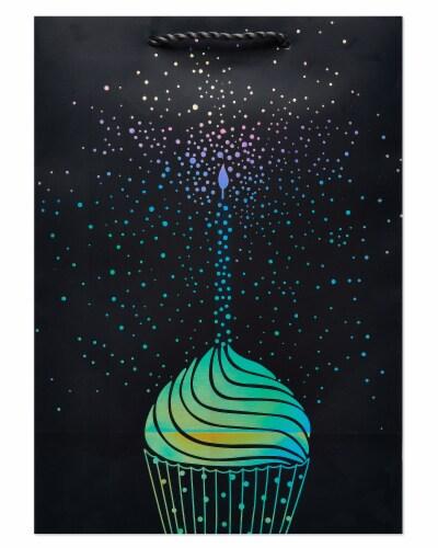 American Greetings #5 Birthday Cupcake Gift Bag Perspective: left