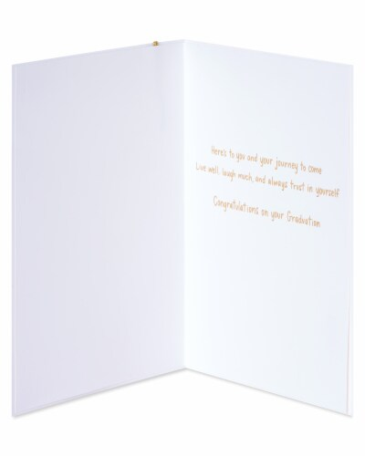Papyrus Graduation Card (Better Things Ahead) Perspective: left