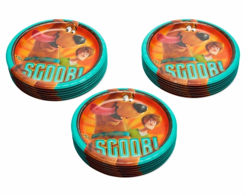 American Greetings Scoob Dinner Plates Perspective: left
