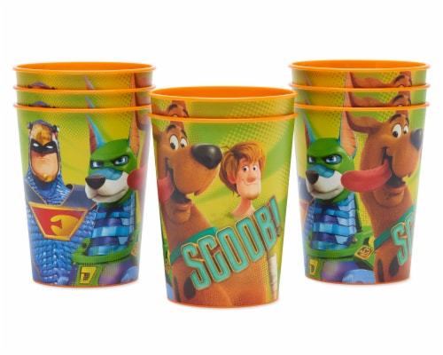 American Greetings Scoob Plastic Party Cups Perspective: left