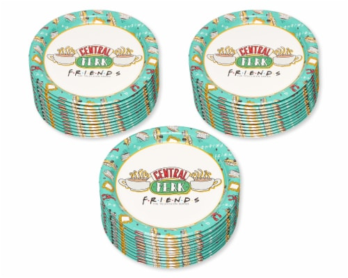American Greetings Friends Dessert Plates Perspective: left