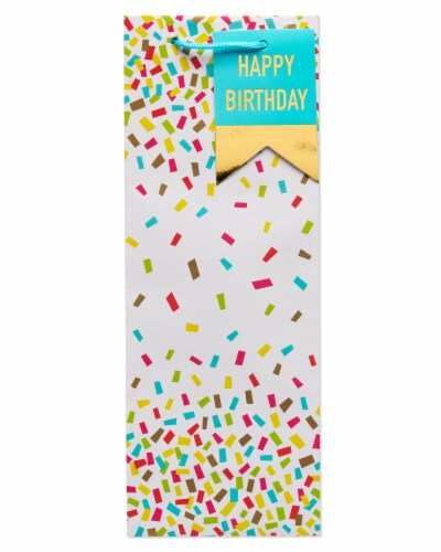American Greetings #9 All Occasion Confetti Beverage Bag Perspective: left