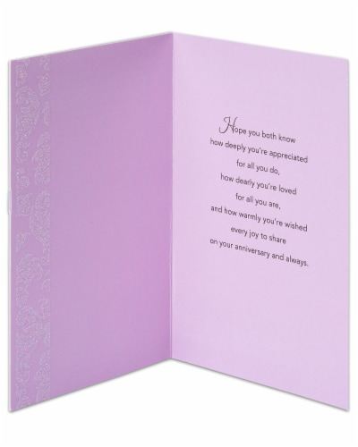 American Greetings Anniversary Card for Couple (You're Both So Special) Perspective: left