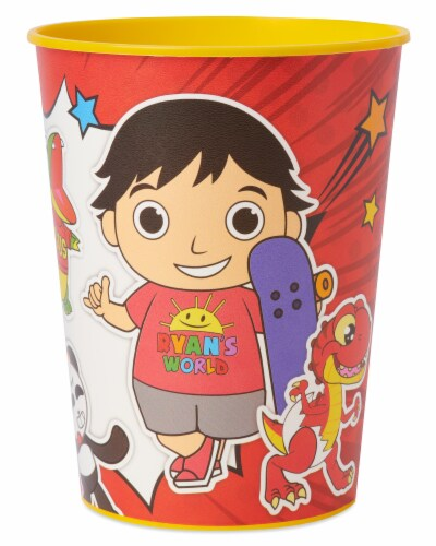 American Greetings Ryan's World Plastic Party Cups Perspective: left