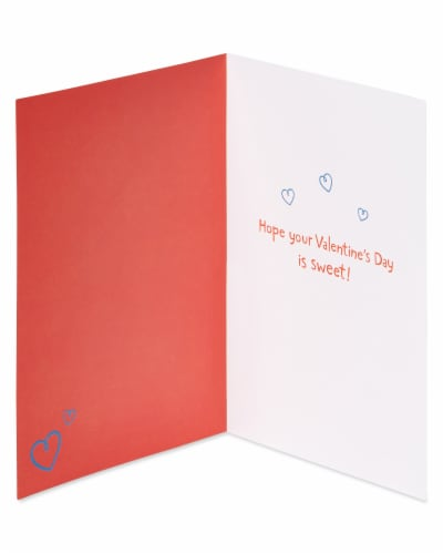 American Greetings #57 Valentine's Day Cards (Smiley Face) Perspective: left