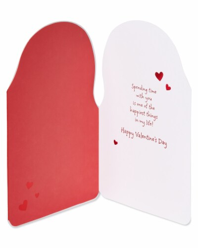 American Greetings #56 Valentine's Day Card (Puppy) Perspective: left