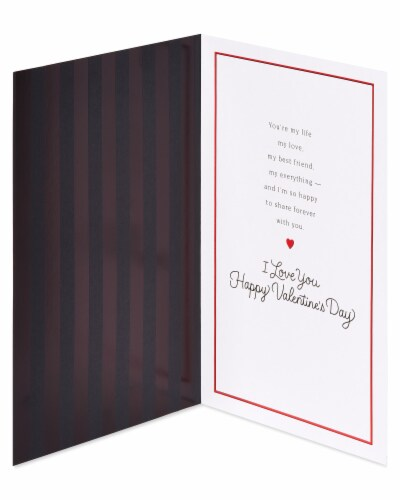 American Greetings #62 Valentine's Day Card for Husband (My Love) Perspective: left