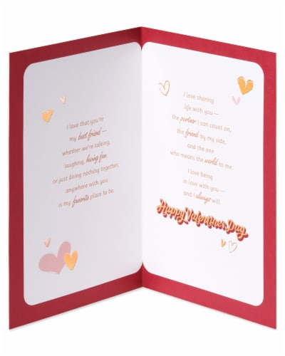 American Greetings #61 Romantic Valentine's Day Card (My Lover) Perspective: left