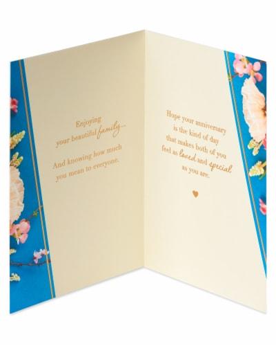 American Greetings #52 Anniversary Card (Good Memories) Perspective: left