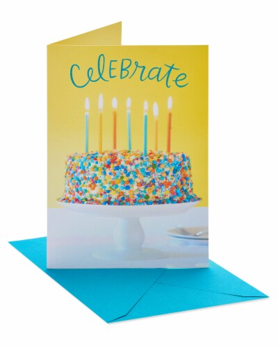 American Greetings #32 Birthday Cards (Celebrate) Perspective: left