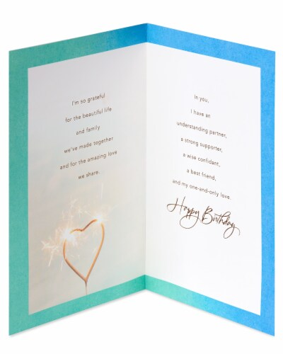 American Greetings #13 Birthday Card for Husband (Celebrate) Perspective: left
