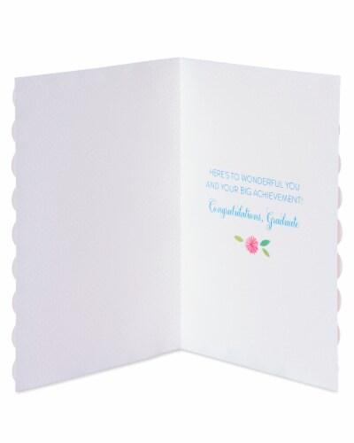 Papyrus Graduation Card (Wonderful You) Perspective: left