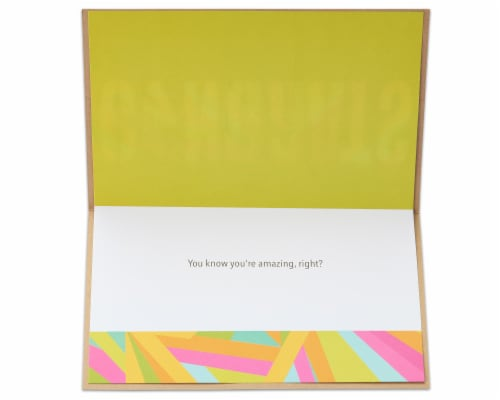 American Greetings Congratulations Card (Biggest Congrats Ever) Perspective: left