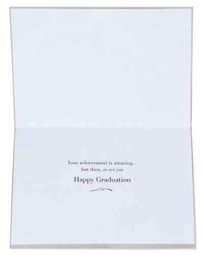 Papyrus #55 Graduation Card (Mortarboard) Perspective: left