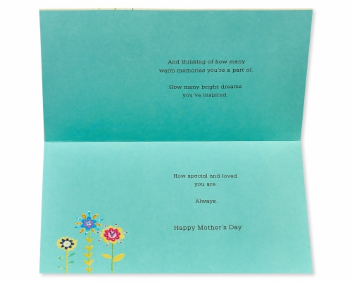 American Greetings #64 Mother's Day Card for Grandmother (Flowers) Perspective: left