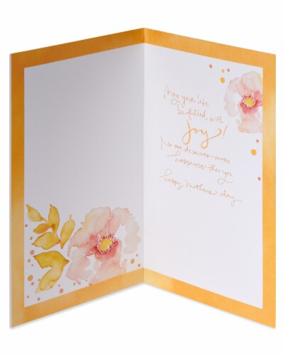American Greetings #65 Mother's Day Card (Beauty) Perspective: left