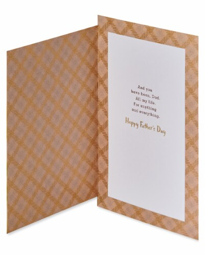 American Greetings #59 Father's Day Card (Dogs) Perspective: left