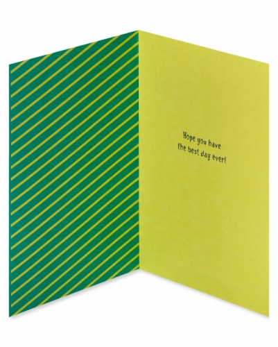 American Greetings #65 Father's Day Card (Best Day Ever) Perspective: left