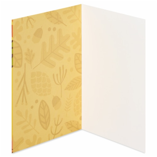 American Greetings Thinking of You Card (Leaves) Perspective: left