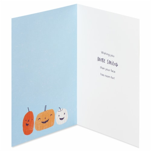 American Greetings Thinking of You Card (Pumpkins) Perspective: left