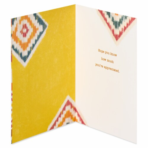 American Greetings Thank You Card (All the Difference) Perspective: left