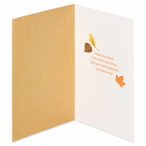 American Greetings Religious Thank You Card (Thank God) Perspective: left