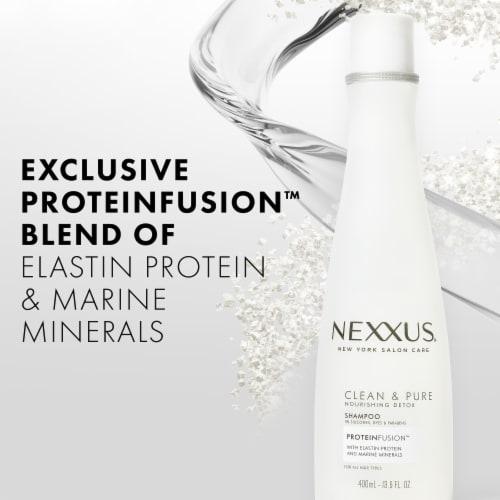 Nexxus® Silicone & Paraben-Free Clean & Pure Nourishing Shampoo Perspective: left