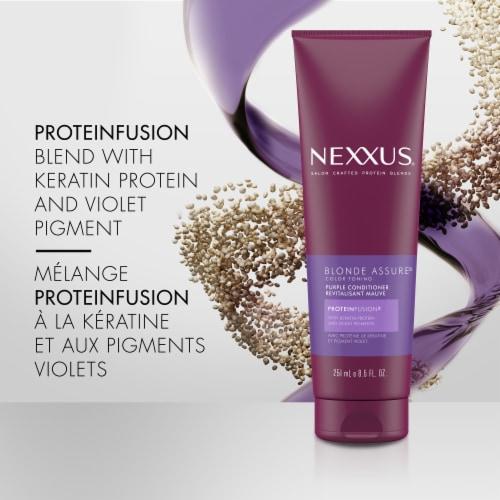Nexxus Blonde Assure Protein Fusion Color Toning Conditioner Perspective: left