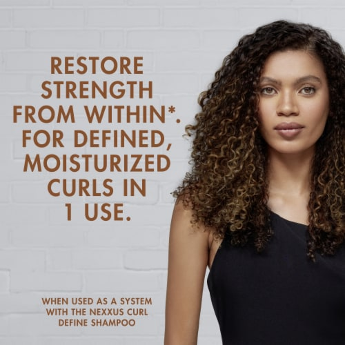 Nexxus Curl Define Conditioner for Curls and Coils Perspective: left