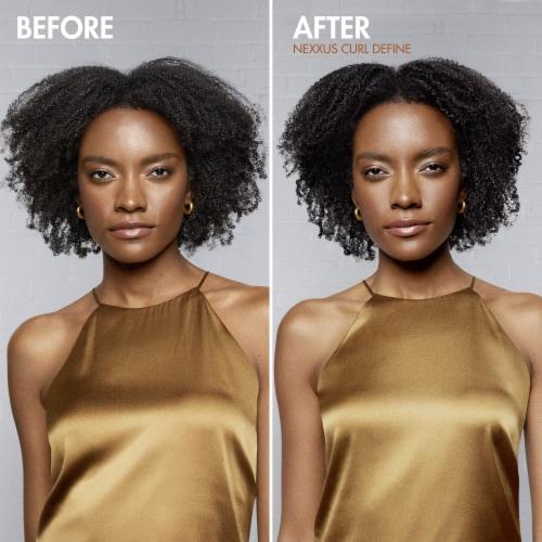 Nexxus Curl Define Shampoo Perspective: left
