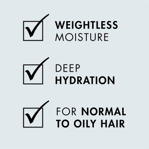Nexxus® Silicone-Free Hydra-Light Weightless Replenishing Shampoo for Oily Hair Perspective: left