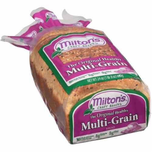 Milton's Multi-Grain Bread Perspective: left