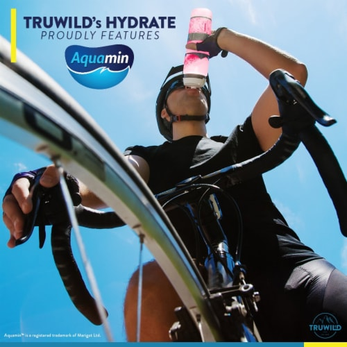 Hydrate Electrolyte + Amino Acids Drink Mix Powder - Natural Lemon & Watermelon Juice Perspective: left