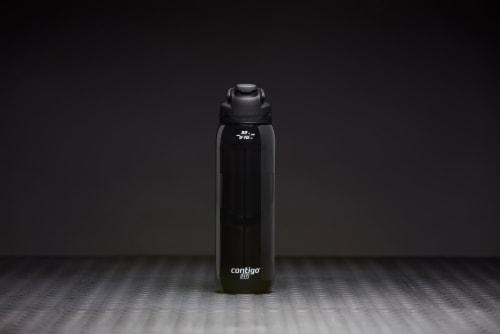 Contigo Fit Autoseal Water Bottle - Licorice Perspective: left